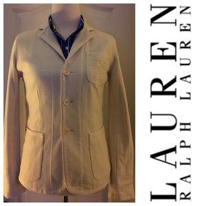 Ralph Lauren Monogramed Blazer Jacket